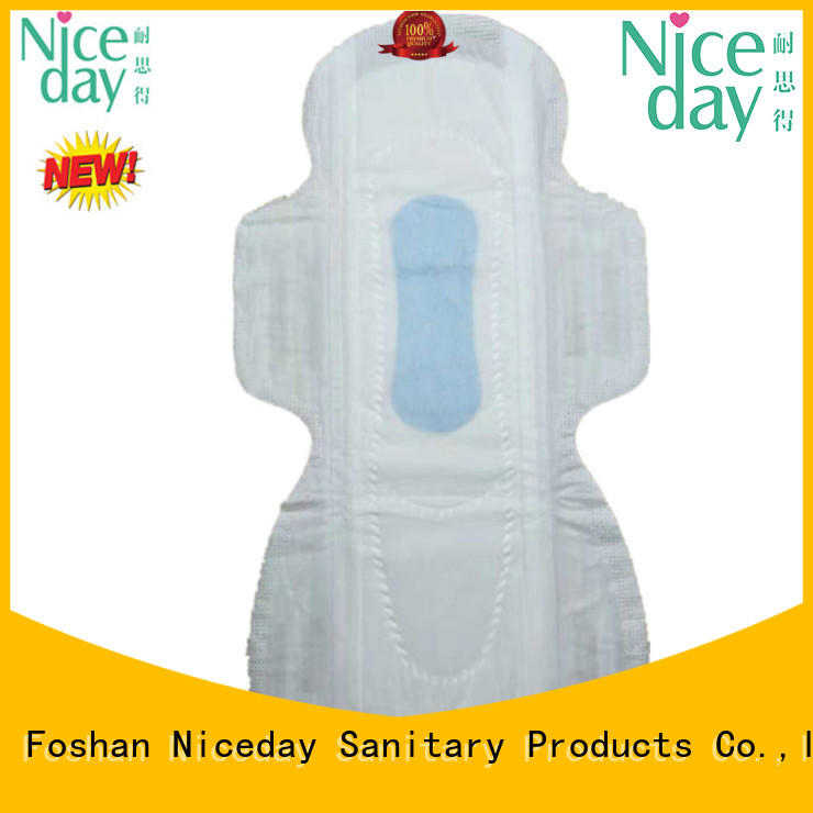 Over night prevent side leakage sanitary pad popular women's hygiene products NDLTHW-1-3-Niceday