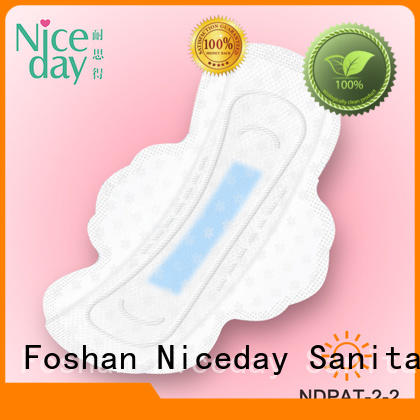 Niceday high-end sanitary towel merchants for girls