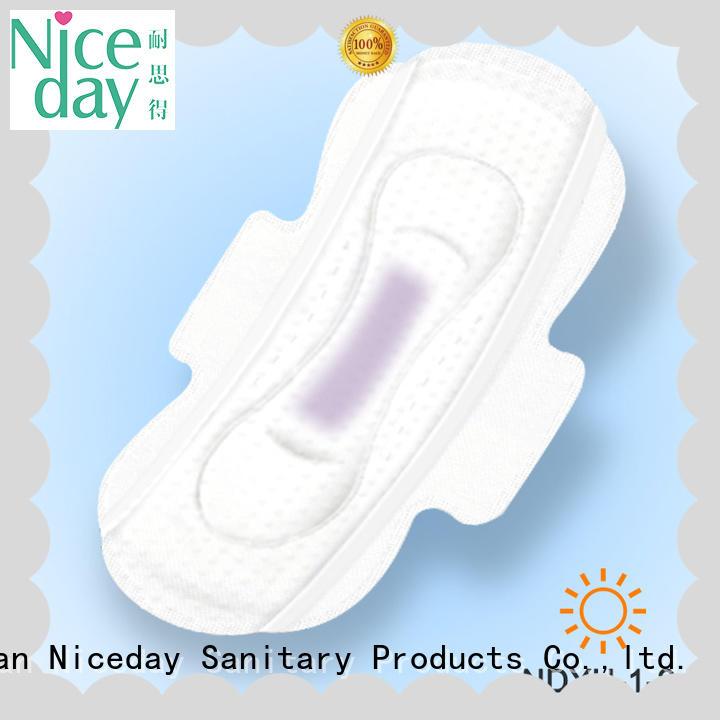 Niceday black sanitary pads brands liner for feminine