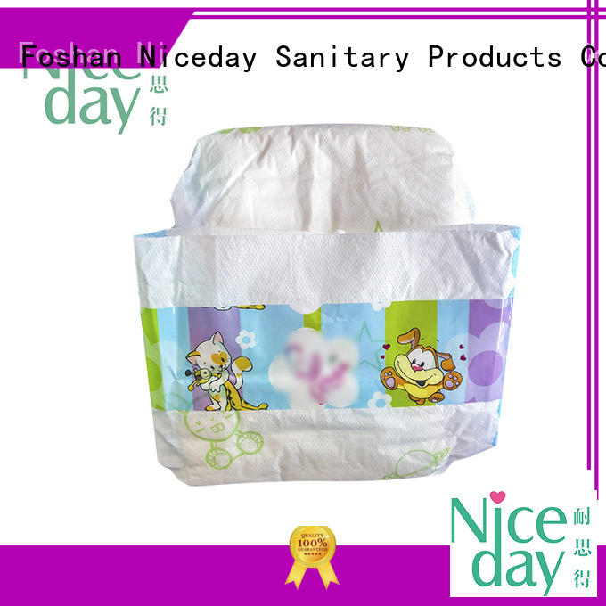 Niceday breathable infant diapers disposable for baby boy