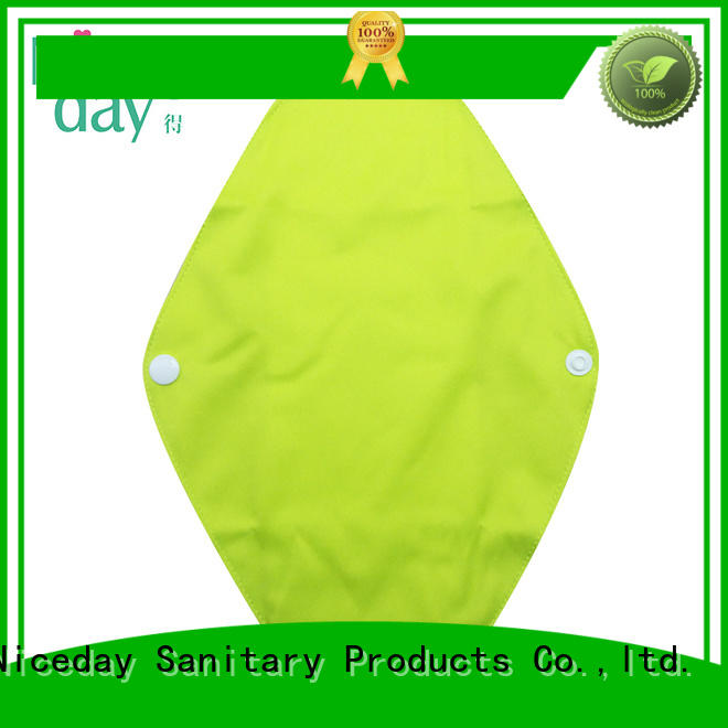 Niceday reusable best reusable pads printed for ladies