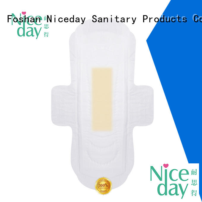 Niceday absorbent ultra thin sanitary napkin icy for ladies