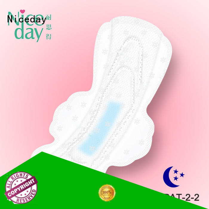 luxury menstrual products icy color for feminine