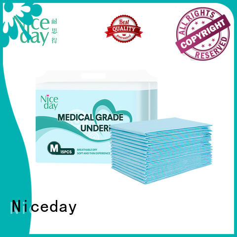 Niceday disposable bed underpads underpad for baby
