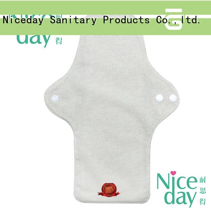 Niceday brand reusable sanitary napkin washable for women