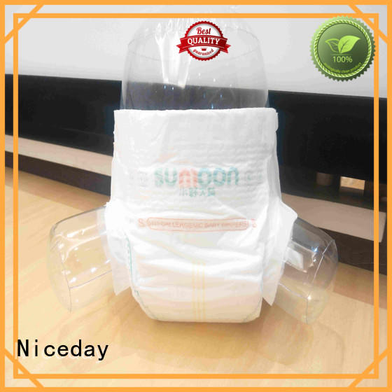 Niceday odm cheap newborn baby diapers diape for baby girl