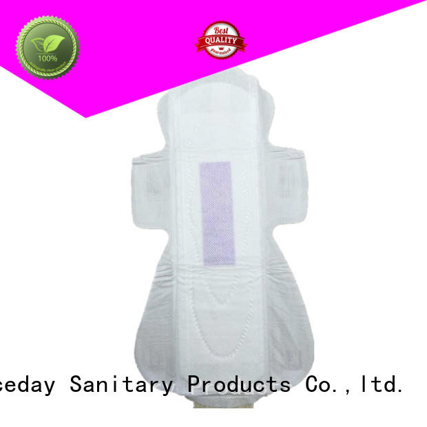 Niceday purple thin pads for periods surface for women
