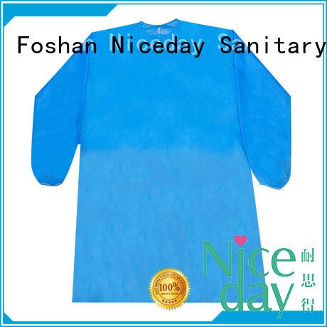 Niceday white protective coveralls supplier for doctors