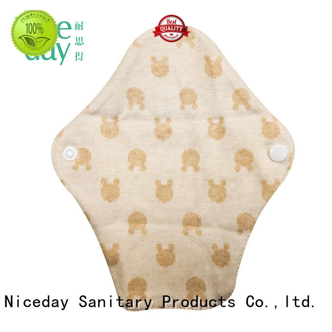 Niceday colorful cotton menstrual pads eniceday for girl