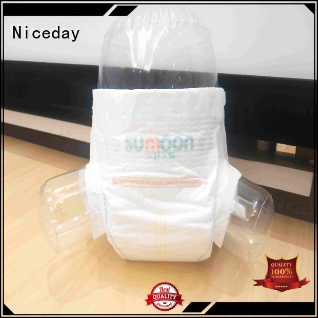Niceday material baby nappies line for baby girl