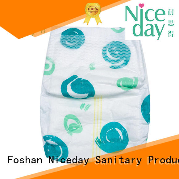 Niceday line low cost sanitary napkins organizer for infant