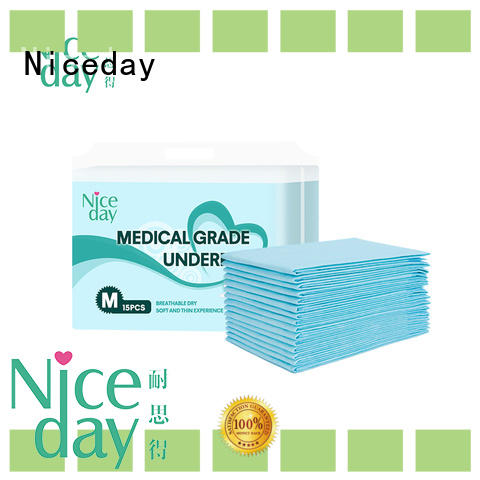 Niceday underpad disposable incontinence sheets inquire for baby