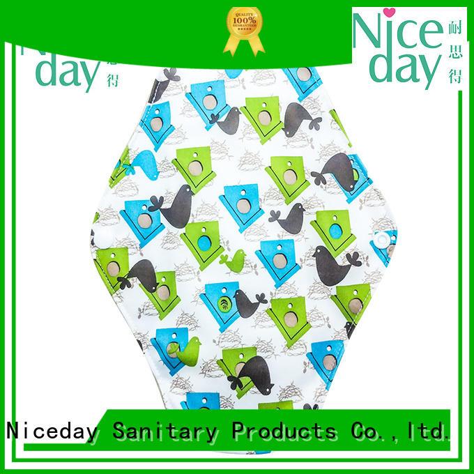 Niceday brand reusable sanitary napkins quality for women