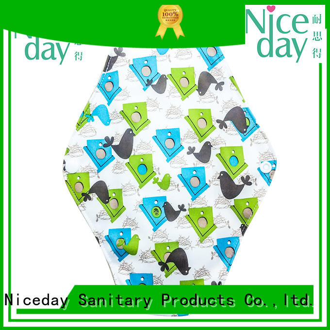Niceday brand reusable sanitary napkins quality for women