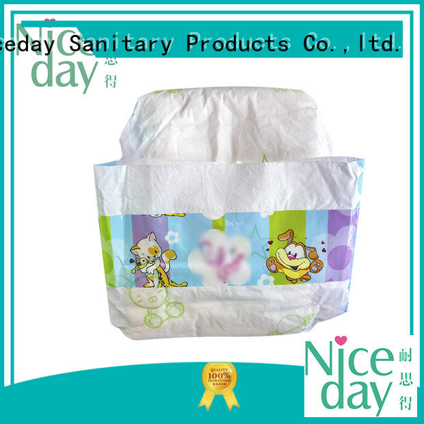 Niceday brand free baby diapers smart for baby girl