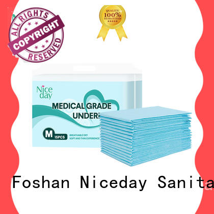Niceday baby adult bed pads customize for baby