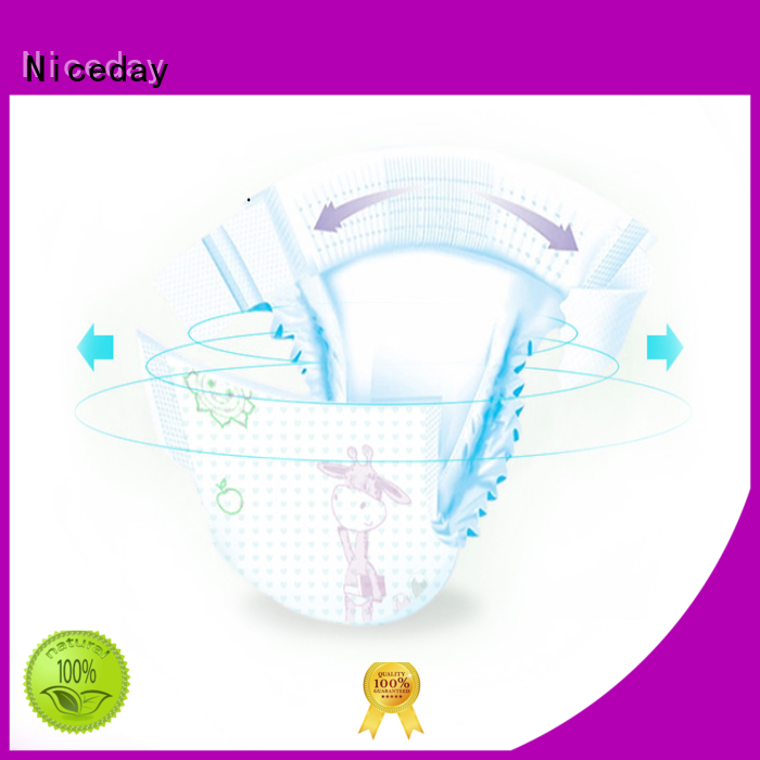 Niceday breathable infant diapers softcare for baby boy