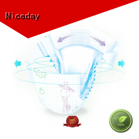 Niceday biodegradable best newborn nappies diaper for baby