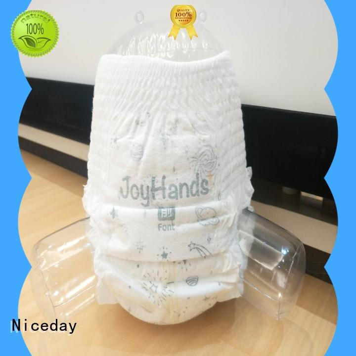 Niceday soft free baby diapers cotton for baby girl