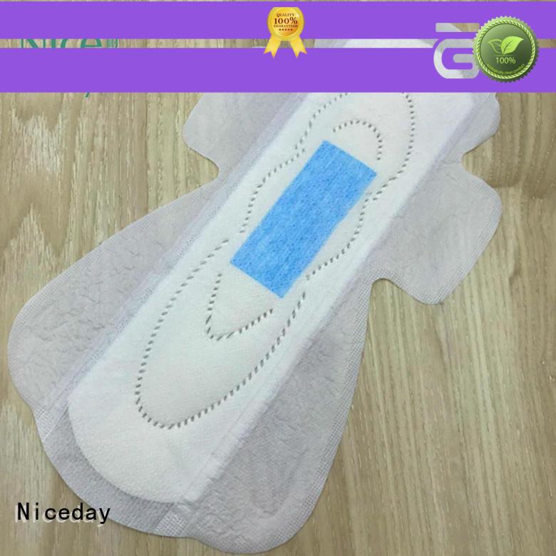 Niceday raw menstrual pads cotton for women