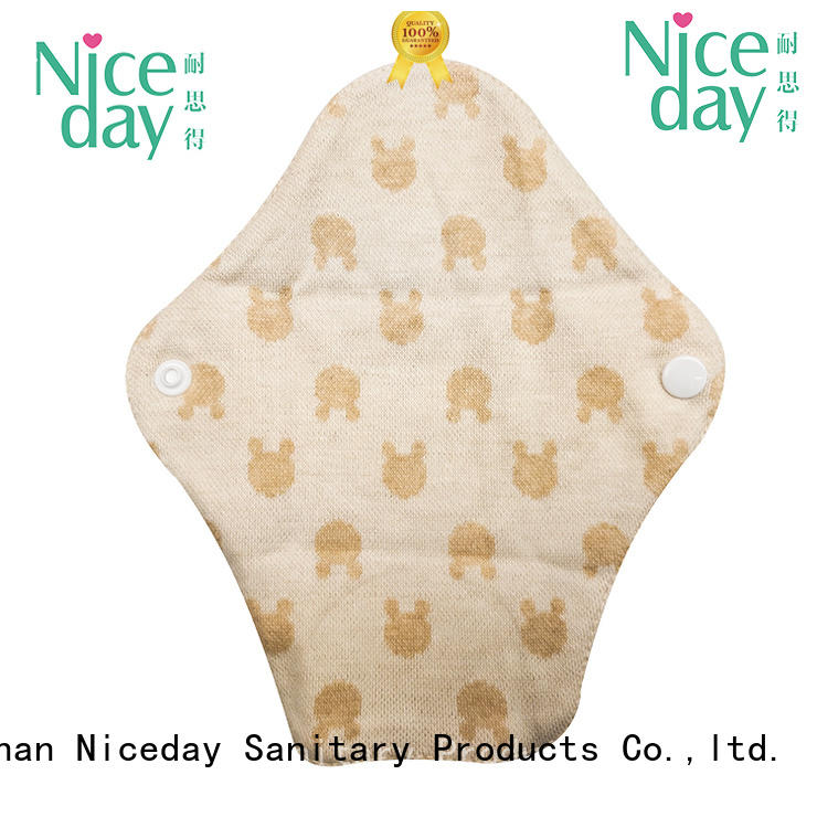 Niceday super low cost sanitary napkins cotton for absorption