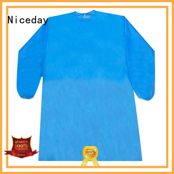 Niceday good quality disposable clothes manufacturer for hospital