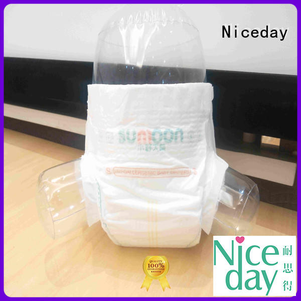 Niceday surperior organic baby diapers disposable sleeping for baby boy