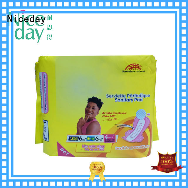 Niceday diaper best sanitary pads perforated for girls