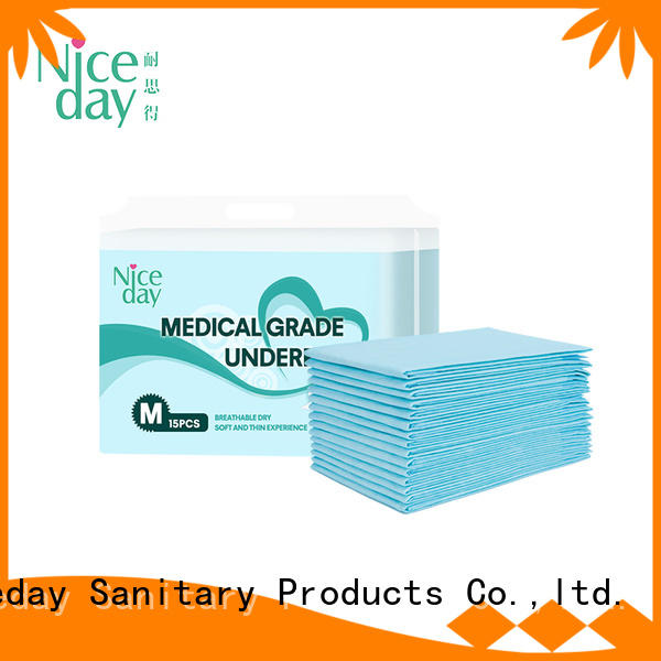 Niceday adult bed diaper pads customize for baby