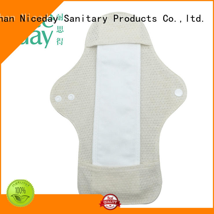 Niceday hygiene reusable period pads price for girl