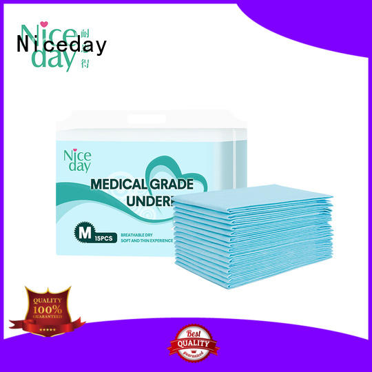 disposable large bed pads blue underpad for adult