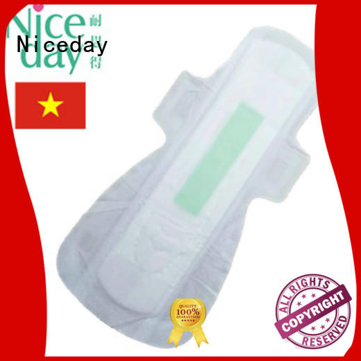 bulk best sanitary pads winged absorbtion for female