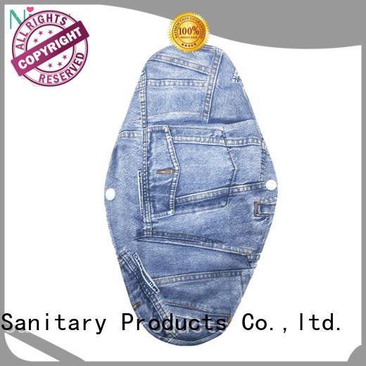 sanitary reusable menstrual products colorful for girl