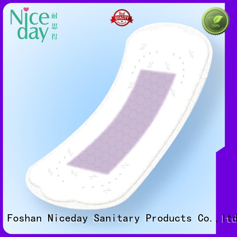 Niceday absorption cotton sanitary pads market for period