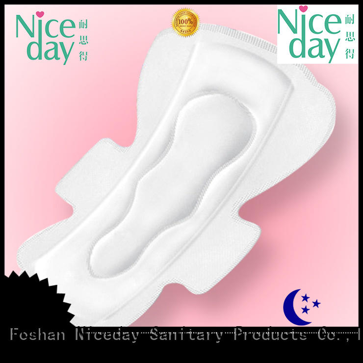 Niceday popular best sanitary pads in the world reusable for female
