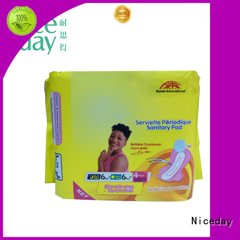 Niceday your sanitary pads brands nonwoven for period