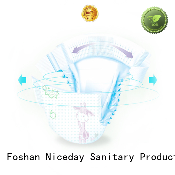 Niceday small cheap baby diapers pure for baby boy